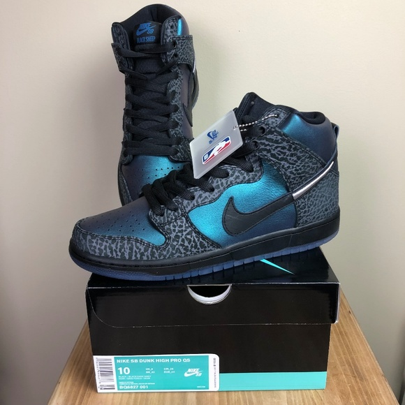 d917fa0d5b0 Nike SB Dunk High Black Sheep Size 10 Black Hornet